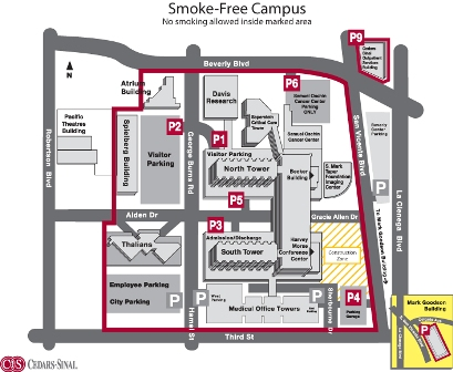 Smoke-Free Campus Boundary Map